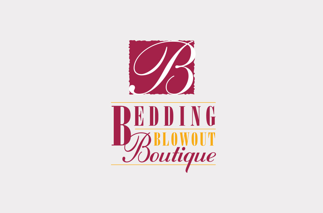 Bedding Blowout Boutique Logo Design Nitrous Communications